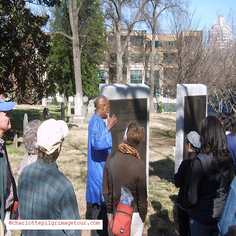 QCT Charlotte Pilgrimage Tour - 1st Slave Cemetery