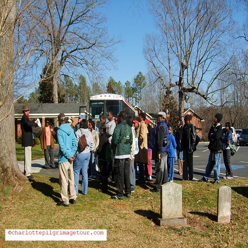 QCT Charlotte Pilgrimage Tour - 2nd Slave Cemetery