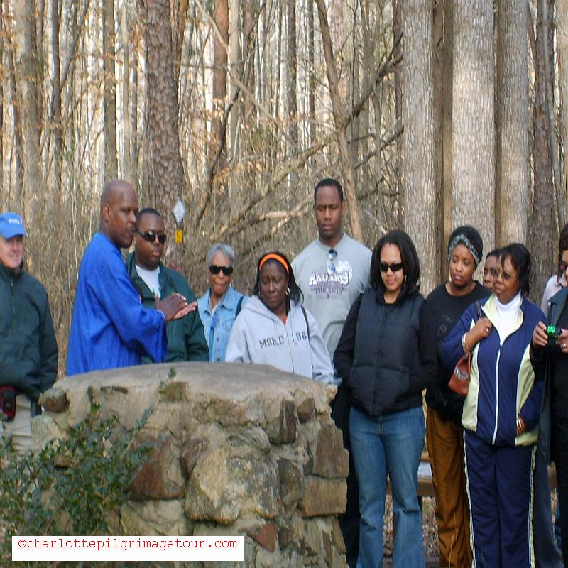QCT Charlotte Pilgrimage Tour - 3rd Slave Cemetery