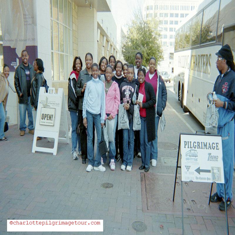 QCT Charlotte Pilgrimage Tour - Boarding